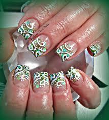 28 incredible green acrylic nails u2013 slybury com