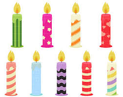 birthday candle candle clip etsy