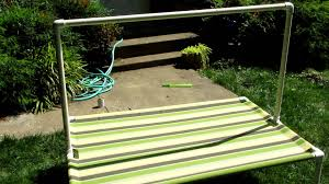 Diy Pvc Patio Furniture - pvc swim platform youtube