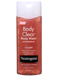 Neutrogena Bath And Shower Gel How To Get Rid Of Body Acne Beautyeditor