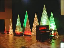 tree variety church stage design ideas