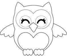 Owl Coloring Pages For Kids Pinteres Coloring Pages Owl