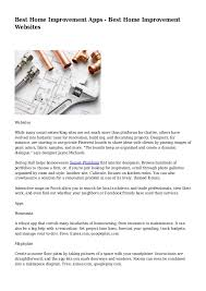 Home Improvement Websites   best home improvement apps best home improvement websites 1 638 jpg cb 1400517649
