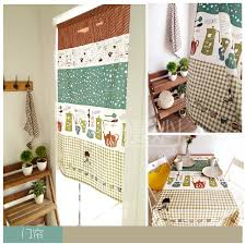 Kitchen Curtain Material by Online Get Cheap Rustic Kitchen Curtains Aliexpress Com Alibaba
