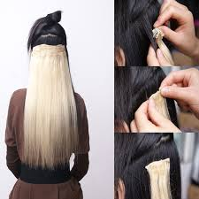 clip on extensions real thick 18clips clip in hair extensions extension as