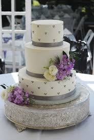 wedding cakes purple wedding anniversary cake purple wedding