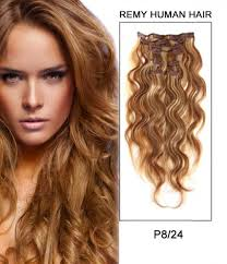 remy human hair extensions 20 8 pieces wave clip in remy human hair extension e82005