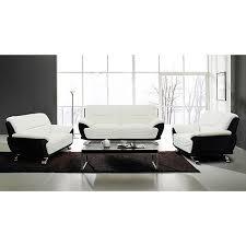 enjoyable inspiration black and white sofa set home design ideas
