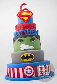 gâteau super hero gateau marvel pinterest super hero cakes