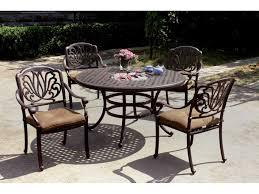 Antique Round Dining Table Darlee Outdoor Living Series 30 Cast Aluminum Antique Bronze 52