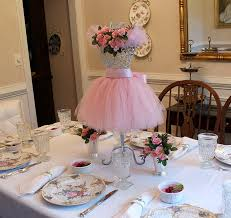 tutu centerpieces for baby shower idea ballerina centerpieces best 25 tutu ideas on