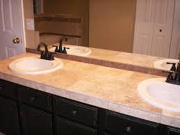 bathroom countertop tile ideas terrific tiled bathroom countertops photo 6 design your home on