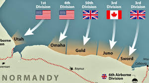 Normandy Invasion Map D Day A Critical Moment In History Youtube