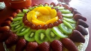 Cheesecake Decoration Fruit Decorating A Cake With Fruit Youtube