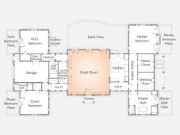 great room floor plans patio house plans lovely great room floor plans 5 bedroom luxury