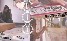 diy brandy melville inspired room decorations youtube
