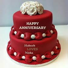 wedding anniversary cakes the 25 best happy marriage anniversary cake ideas on