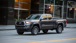 yellow toyota truck 2016 toyota tacoma first drive autoweek