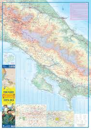 Map Costa Rica Maps For Travel City Maps Road Maps Guides Globes Topographic