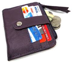 Money Clip Wallet Id Window Leather Wallet And Money Clip