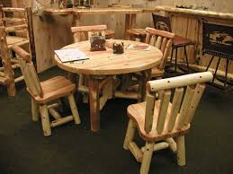 decorating with rustic dining room tables model home decor ideas