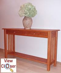 dining room sofa table woodworking plans