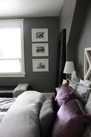chambre blanc et violet deco chambre violet et gris couleur aubergine deco chambre et ma