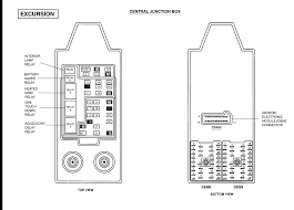 2000 ford excursion fuse box diagram