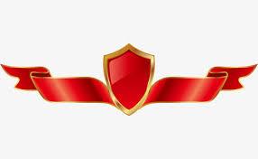 logo ribbon phnom penh on ribbon shield shield ribbon logo png image