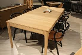 natural wood kitchen table and chairs a trip into the world of stylish dining tables