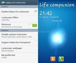 lock screen apk how to install galaxy s4 lock screen in any android phone
