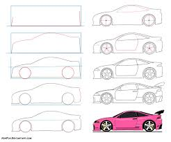 how to draw a car dr odd