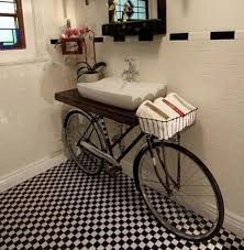 cheap bathroom vanity ideas unique bathroom vanities with bicycle form