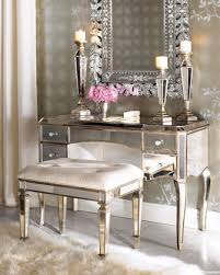 bedroom vanity claudia mirrored vanity desk vanity seat traditional bedroom