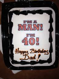 40th birthday cake ideas for him 8 best birthday resource gallery