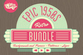 1950s retro bundle free trial edition by wing u0027s art and design studio