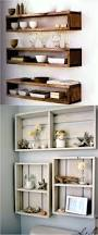 Wooden Shelves Plans by Best 25 Pallet Shelves Ideas On Pinterest Pallet Shelving