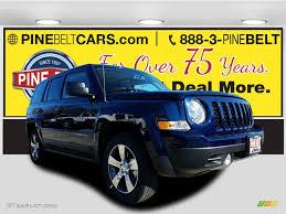 jeep patriot 2017 high altitude 2017 true blue pearl jeep patriot high altitude 4x4 117291094