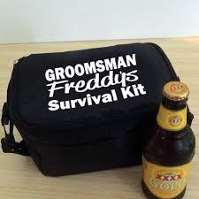 groomsman survival kit cooler bridal bling australia
