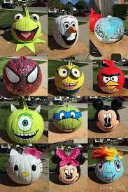 Funny Halloween Pumpkin Designs - pumpkin decorative on a cute side halloween pinterest