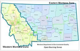 A Map Of Montana by Montana Deq U003e Air U003e Airquality U003e Airopenbrn