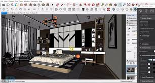 how to render a bedroom with vray 3 4 for sketchup 2017 arka roy
