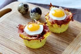 comment cuisiner une caille recette comment faire des nids de pommes de terre aux oeufs de