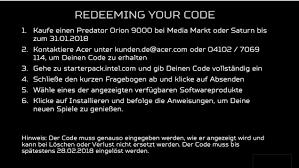 acer predator orion 9000 deal zum verkaufsstart des gaming