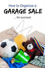 How To Organize A Garage To Organize A Garage Sale