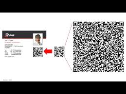 Create Qr Code For Business Card Compact Small Qr Code For Business Cards Youtube