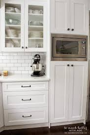 What Is The Standard Height Of Kitchen Cabinets Best 25 Microwave Storage Ideas On Pinterest Microwave Cabinet