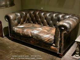 canapé chesterfield ancien superbe canape chesterfield cuir meubles thequaker org