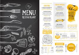 sle menu design templates 100 free menu template menu flyer template free 28