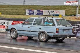 toyota corona ls1 powered corona wagon at drag challenge video street machine